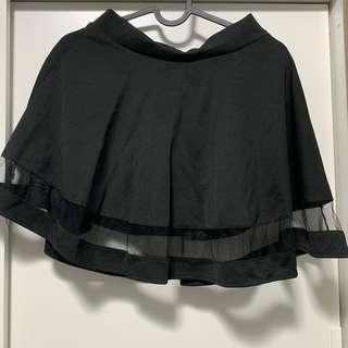 Korean Black Skirt
