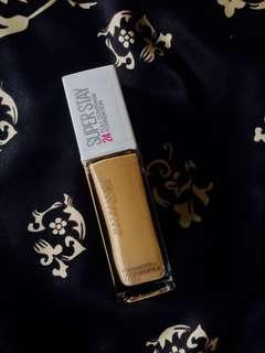maybelline superstay 24 hours full coverage foundation