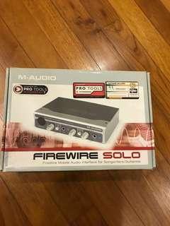M-Audio Firewire Solo Recording Audio Interface