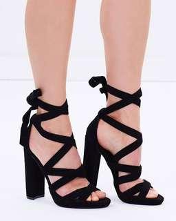 Windsor smith tie up heels