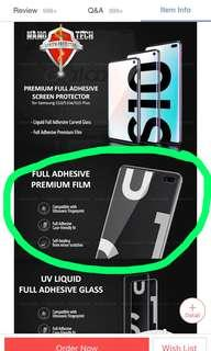 Samsung s10 nanotech screen protector