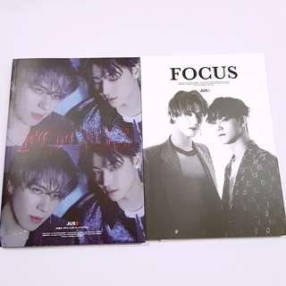 GOT7 JUS2 JB YUGYEOM Unit Focus On Me unsealed album