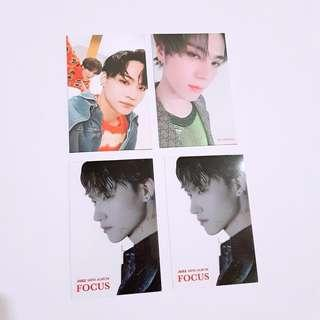 GOT7 JUS2 JB YUGYEOM UNIT FOCUS ON ME Photocard