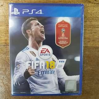 KASET PS4 FIFA18 REGION 3