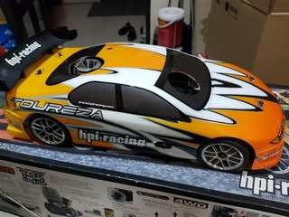 HPI Racing RS4 Evo 3 Nitro 10 Scale Roller