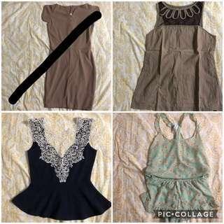 Assorted Clothes Bundle (Women)