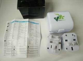 🚚 World Wide Travel Adapter Adaptor