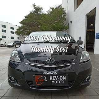 Toyota Vios 1.5 E Sports Auto