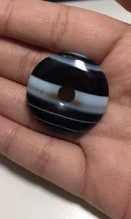 🚚 Black Agate pendant 黑玛瑙
