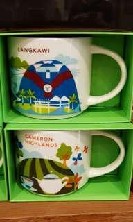 20$ each langkawi or cameron highland you are here cup