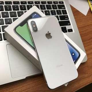 Brand New Apple IPhone X Mas with the complete accessories