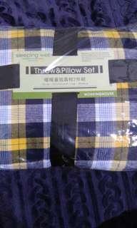 🚚 生活工廠蓋毯靠枕兩件組