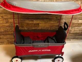 Radio Flyer Foldable Premium Wagon (Ultimate)