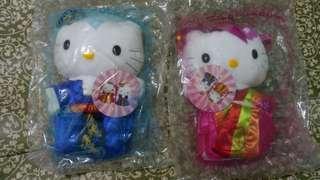 🚚 麥當樂2000年和kitty聯名娃娃(韓城之戀)/婚禮小物/情人禮物