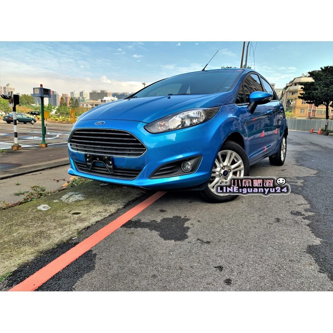 《2016年Ford Fiesta ,安全性能佳,操控性也美賣唷!就是新車2手價~錯過可惜! 》