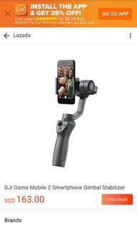 DJI osmos mobile Gimbal Stabilizer