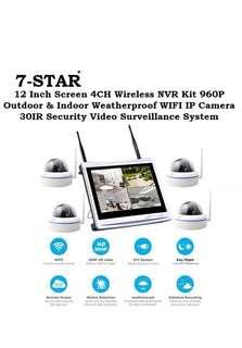 5a4d7947d70 IP Camera-Plug & Play Wireless Wifi 4ch/8ch NVR Recorder Kit Set with