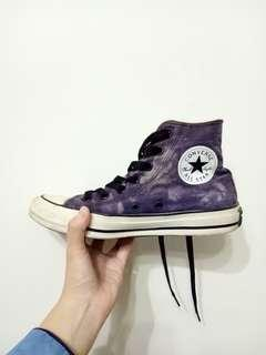 🚚 Converse 牛仔感高筒帆布鞋 23.5