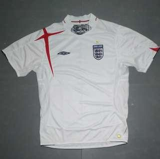 Jersey England Umbro Official 2005 - 2007