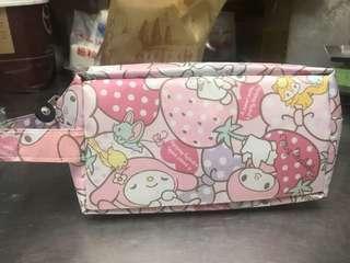 🚚 美樂蒂鉛筆盒/美樂蒂化妝包/美樂蒂/手拿包