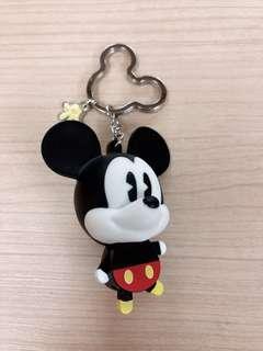🚚 迪士尼Q版米奇鑰匙圈