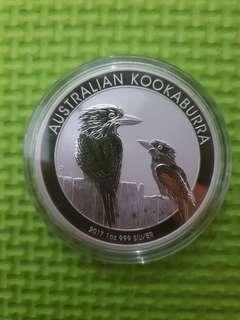 Australian Kookaburra Silver 1 oz