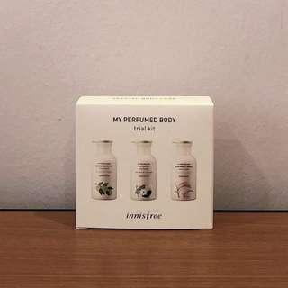 Innisfree My Perfumed Body Trial Kit