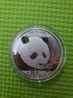 Chinese Panda Silver 30g
