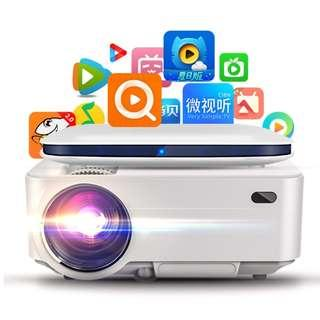 $188! Projector + WiFi / Wireless Android TV Box