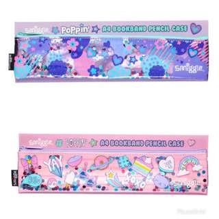 Smiggle Poppin A4 Book Band Pencil Case
