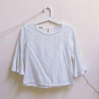 White Lace Top #MMAR18