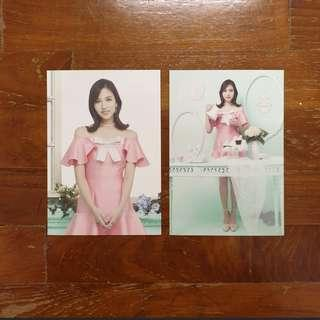 🚚 TWICE Mina Twiceland Postcard Set