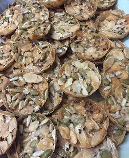 Biskut kekacang crunchy