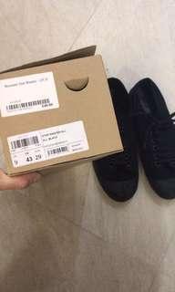 Novesta black canvas shoes converse vintage
