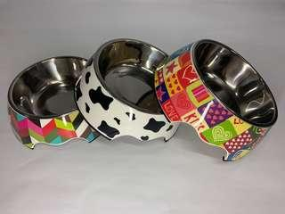 🚚 Stylish 2-in-1 dog bowl (M)