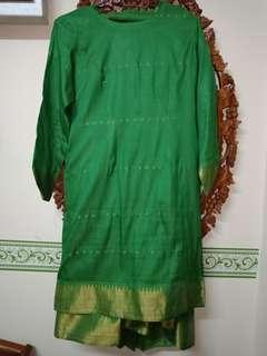 baju kurung moden saree