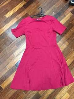 Padini Pinky Red Tshirt Dress flare #MMar18