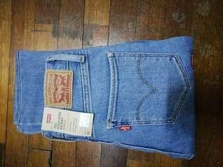 levi's high rise skinny ankle size 24(new)