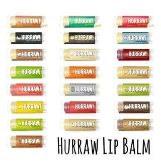 🚚 Hurraw! Lip Balm - Raw, vegan & organic!