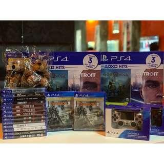New Arrival Ps4 Games