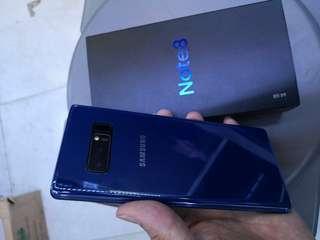 🚚 Like new samsung galaxy note 8 64gb deepsea blue