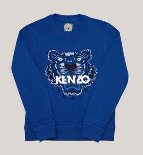 🚚 Kenzo 亮藍色老虎衛衣 blue tiger sweatshirt