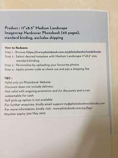 Photobook Malaysia Medium Landscape Imagewrap Hardcover Photobook 40pages