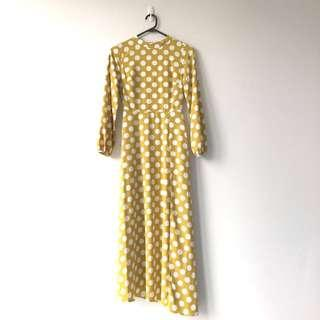Topshop Backless Maxi Dress
