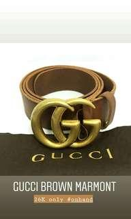 Gucci brown marmont