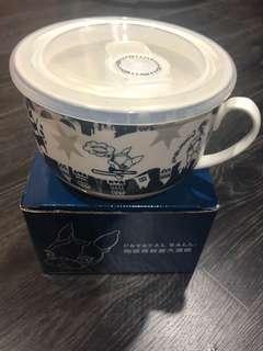 🚚 全新 Crystal Ball陶瓷保鮮蓋大湯麵碗🎉