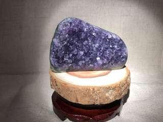 天然水晶 紫水晶晶鎮