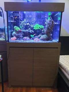 "🚚 Fish Tank With Cabinet (3x2x2"")"