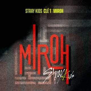 🚚 Stray Kids - [Clé 1 : MIROH] (Normal Edition)