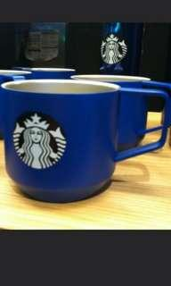 Starbucks blue stainless steel cup